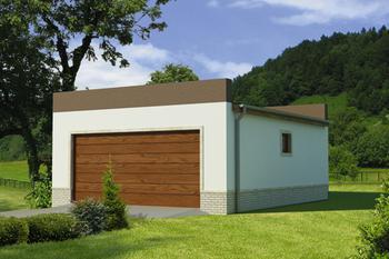Garaże Nowoczesne Lub Z Płaskim Dachem Murator Projekty