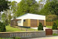 GC69 Garaż z kotłownią i wiatą rekreacyjną