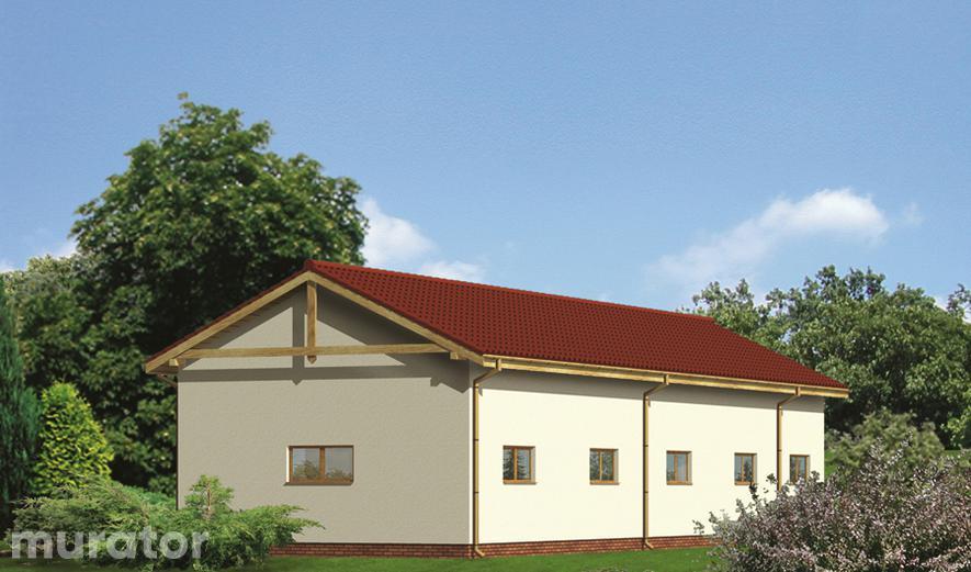 GM01 Budynek garażowo-magazynowy z pomieszczeniem gospodarczym