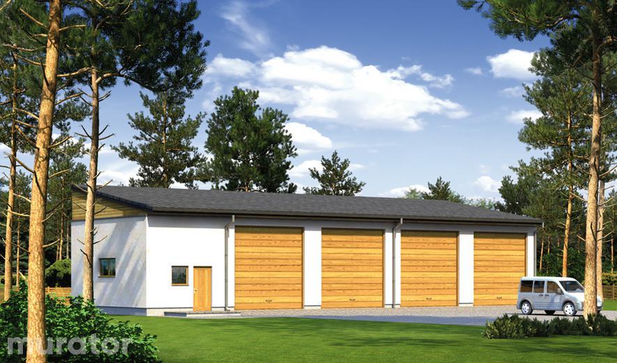 GM01a Budynek garażowo-magazynowy z pomieszczeniem gospodarczym
