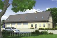 GM06 Budynek garażowo-magazynowy z częścią biurową i poddaszem gospodarczym