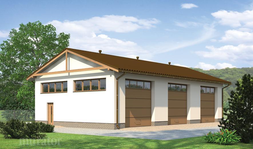 GM11 Budynek garażowo-magazynowy