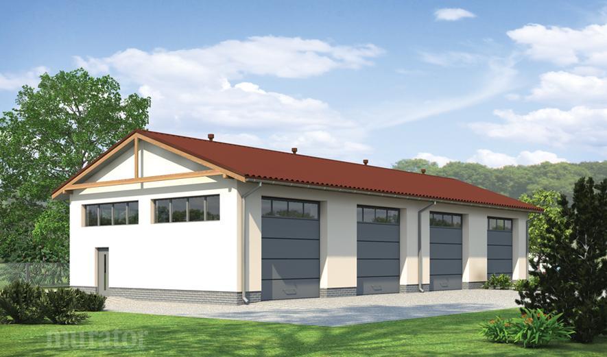 GM11a Budynek garażowo-magazynowy