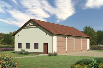 Budynek garażowo-magazynowy GMC01