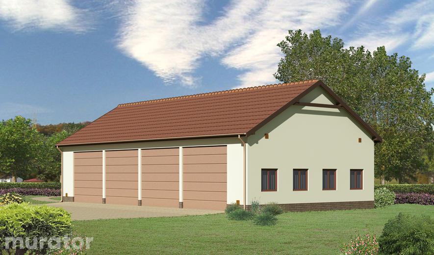 GMC01 Budynek garażowo-magazynowy