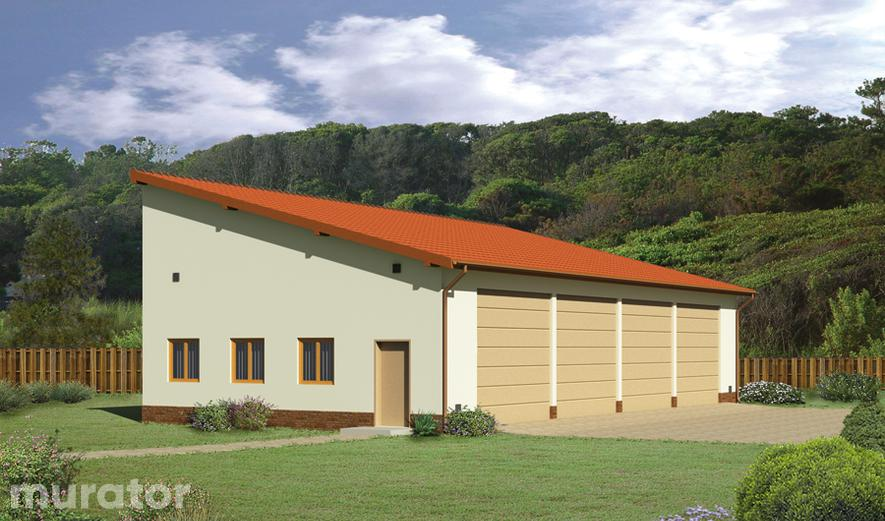 GMC01a Budynek garażowo-magazynowy