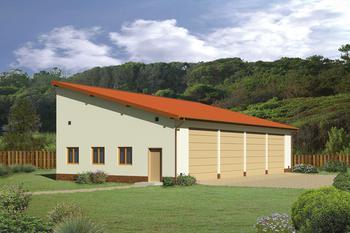 Budynek garażowo-magazynowy GMC01a