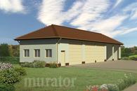 GMC02b Budynek garażowo-magazynowy z wiatą garażowo-magazynową