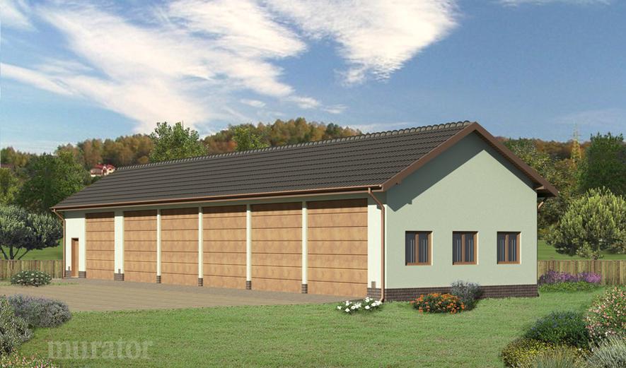 GMC03 Budynek garażowo-magazynowy