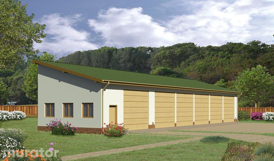 GMC03a Budynek garażowo-magazynowy GMC03a