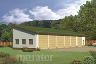 GMC03a Budynek garażowo-magazynowy