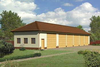 Budynek garażowo-magazynowy GMC03b