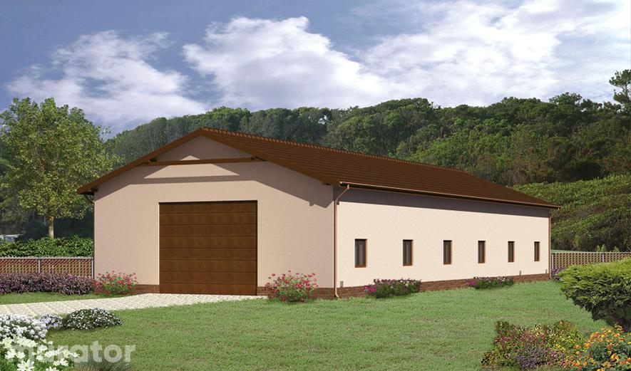 GMC04 Budynek garażowo-magazynowy