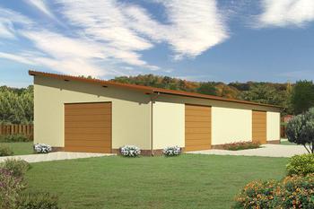 Budynek garażowo-magazynowy GMC04a