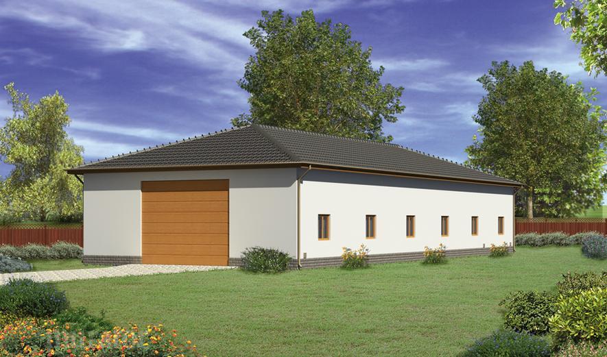 GMC04b Budynek garażowo-magazynowy