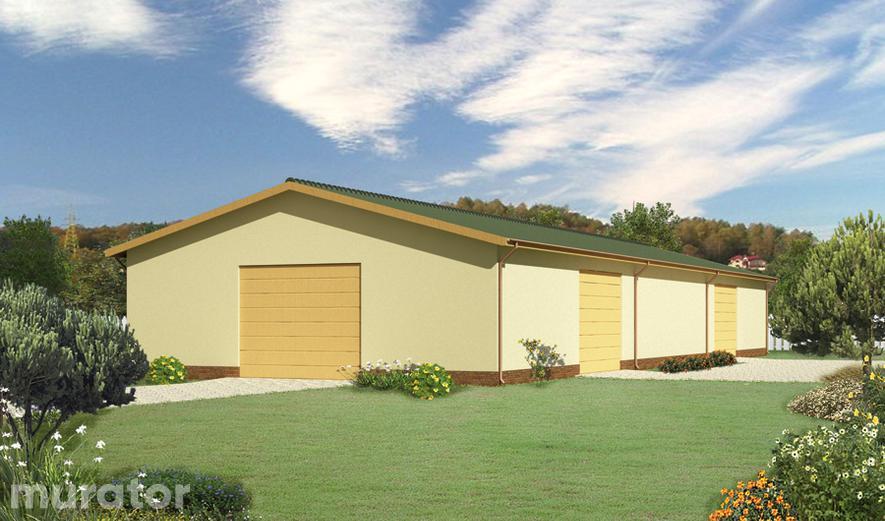 GMC05 Budynek garażowo-magazynowy