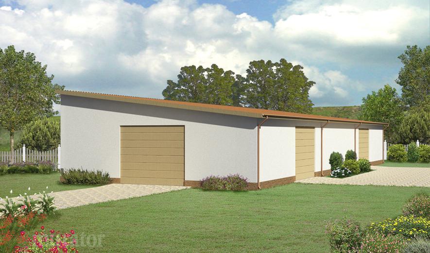 GMC05a Budynek garażowo-magazynowy