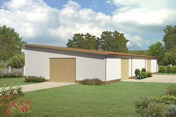 Budynek garażowo-magazynowy GMC05a