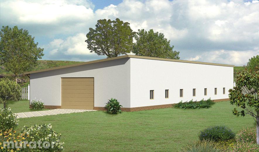 GMC05a Budynek garażowo-magazynowy GMC05a