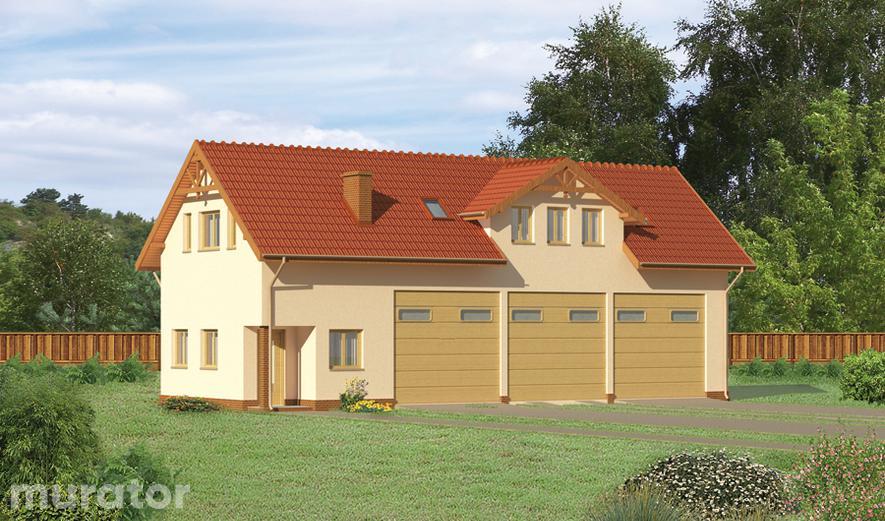 GMC06 Budynek garażowo-magazynowy z poddaszem mieszkalnym