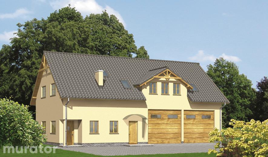 GMC06a Budynek garażowo-magazynowy z poddaszem mieszkalnym