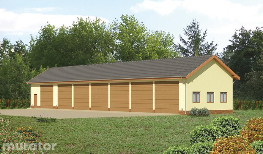 GMC07 Budynek garażowo-magazynowy