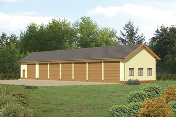 Budynek garażowo-magazynowy GMC07
