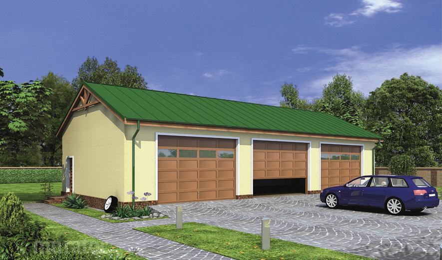GMC08 Budynek garażowo-magazynowy