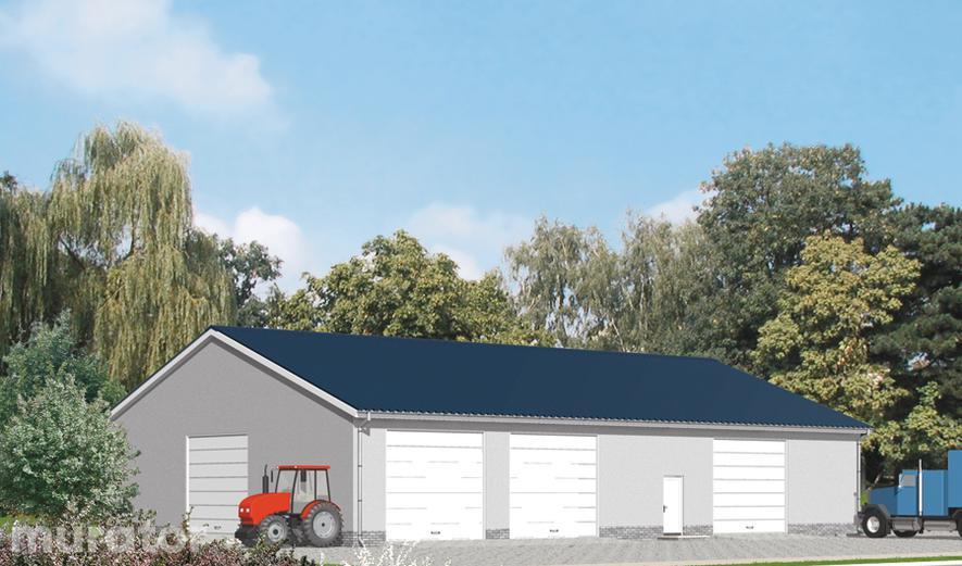 GMC09 Budynek garażowo-magazynowy