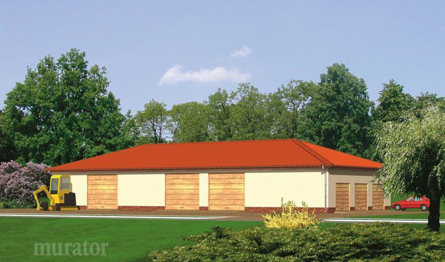 GMC10 Budynek garażowo-magazynowy