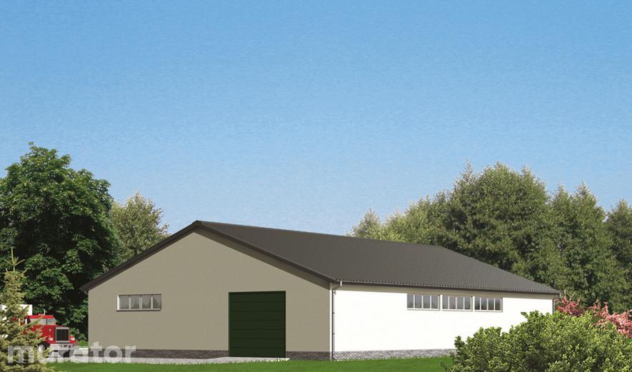 GMC11 Budynek garażowo-magazynowy