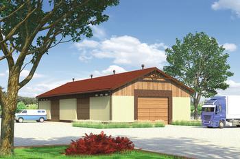 Budynek garażowo-magazynowy GMC15