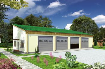 Budynek garażowo-magazynowy GMC19a