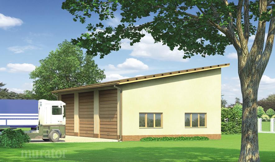 GMC20 Budynek garażowo-magazynowy