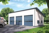 GMC20a Budynek garażowo-magazynowy