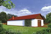 GMC21 Budynek garażowo-magazynowy z pom. pomocniczymi