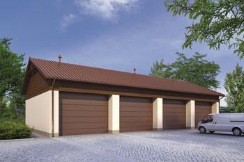 Budynek garażowo-magazynowy GMC25