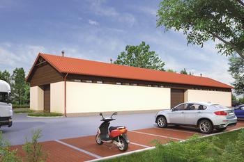 Budynek garażowo-magazynowy GMC26