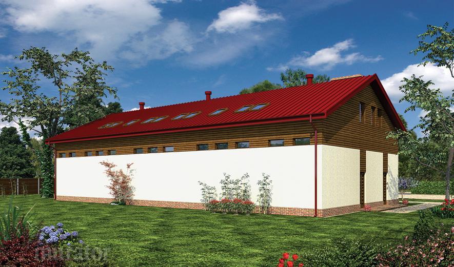 GMC27b Budynek garażowo-magazynowy z poddaszem mieszkalno-gospodarczym