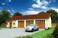 GMC28b Budynek garażowo-magazynowy z częścią biurową
