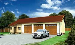 Budynek garażowo-magazynowy z częścią biurową