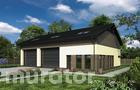 GMC30b Budynek garażowo-magazynowy z pom. pomocniczymi i poddaszem użytkowym