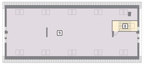 Rzut poddasza POW. 330,2 m²