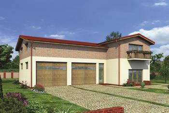 Budynek garażowo-magazynowy z pom. pomocniczymi i mieszkaniem