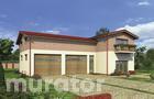 GMC31 Budynek garażowo-magazynowy z pom. pomocniczymi i mieszkaniem