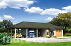 GMC35 Budynek garażowo-magazynowy z wiatą i pom. pomocniczymi