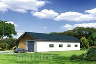 GMC38 Budynek garażowo-magazynowy z pom. pomocniczymi