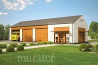 GMC39a Budynek garażowo-magazynowy z pom. pomocniczymi