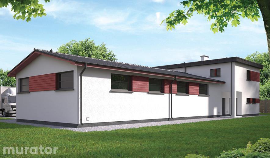 GMC44 Budynek garażowo-magazynowy z cześcią mieszkalną