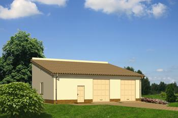 Budynek garażowo-magazynowy GMC46